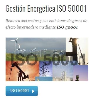 Gestión de la Energía ISO 50001