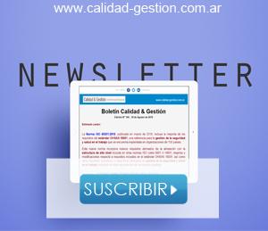 Newsletter sobre sistemas de gestion ISO 9001, 14001, 45001, 50001