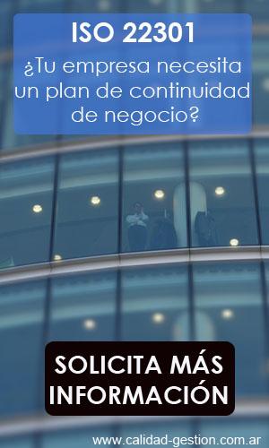 ISO 22301 - Plan de Continuidad de Negocio